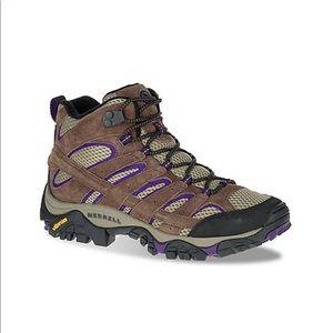 Merrel Moab Vent 2 mid hiking boots - like new